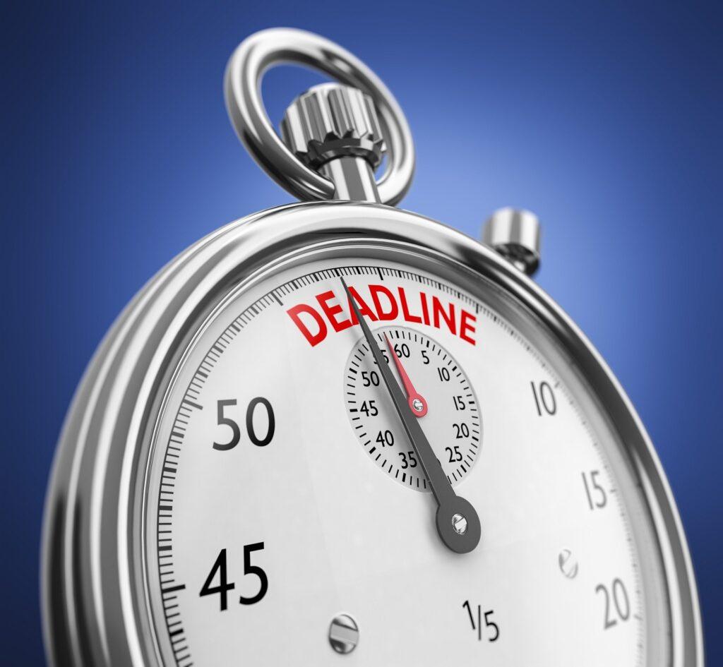 Bounce Back Loan Deadline